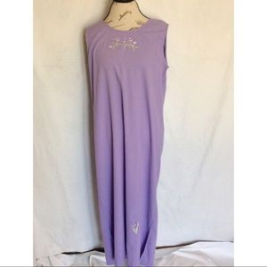 Teddi Womens Dress Petite Size PL Purple